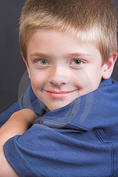 Friendly Boy Royalty Free Stock Photo - Image: 7953425