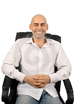 Bald Handsome Man Stock Images - Image: 7954324