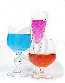 Three Wineglass Royalty Free Stock Images - Image: 7955739