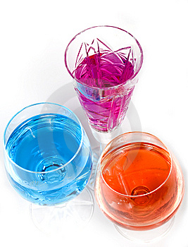 Three Wineglass Stock Images - Image: 7955754