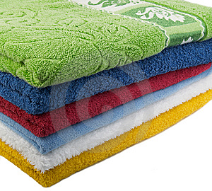 Color Towels Stock Image - Image: 7956851