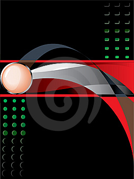 Futuristic Background (without Mesh, Easy Re-size) Stock Photo - Image: 7957220
