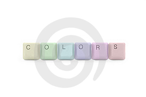 Colors Palette Of Tecnology Industry Royalty Free Stock Image - Image: 7957706