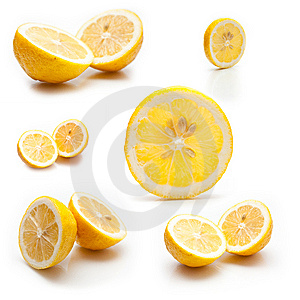 6 Photos Of A Lemon Royalty Free Stock Photography - Image: 7958067