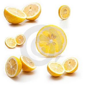 6 Photos Of A Lemon Royalty Free Stock Photography - Image: 7958067