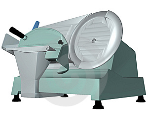 Meat Slicer Royalty Free Stock Images - Image: 7958739
