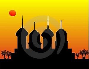 Fiery Sunset Stock Photo - Image: 7959750