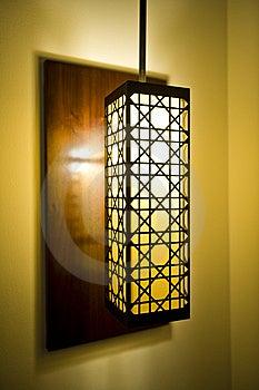 Dekoracyjny Lampowy Cień Zdjęcia Royalty Free - Obraz: 7960098
