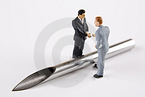 Painful Business Agreement Stock Images - Image: 7960564