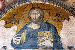 Mosaic Of Jesus Christ Stock Photography - Image: 7961542