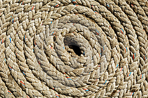 Coil Of Rope Stock Photography - Image: 7961572
