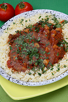 Rice With Tomato Sauce Stock Images - Image: 7962234