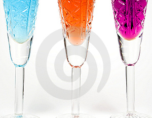 Three Wineglass Stock Images - Image: 7962414
