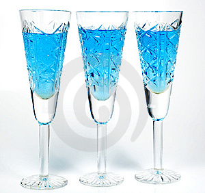 Three Wineglass Stock Photo - Image: 7962420