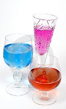 Three Wineglass Stock Image - Image: 7962431