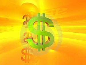 Dollar Symbol Royalty Free Stock Photos - Image: 7963568