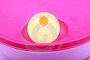 Plastic Lunchbox Royalty Free Stock Image - Image: 7964716