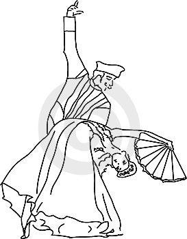 Spanish Dance Royalty Free Stock Images - Image: 7964719