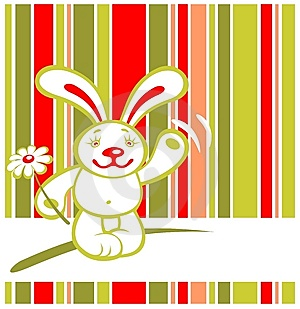 Cartoon Rabbit Royalty Free Stock Photo - Image: 7965295