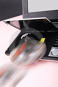 Portable DVD Player Royalty Free Stock Images - Image: 7966229