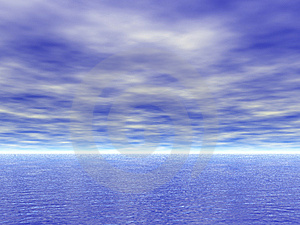 Sea And Sky View Stock Images - Image: 7967334