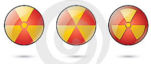 Nuclear Web Icons Stock Photos - Image: 7967653