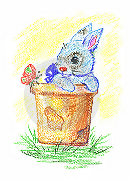 Little Rabbit Royalty Free Stock Image - Image: 7969596