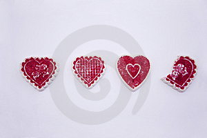 Valentine's Day Cookies Stock Photography - Image: 7971842