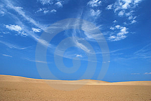 Vast Desert Royalty Free Stock Image - Image: 7972046