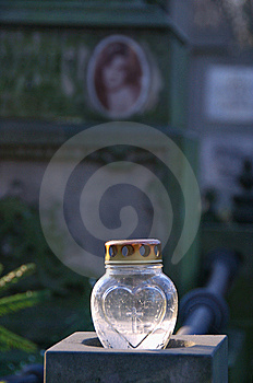 Remembrance Candle Stock Image - Image: 7972281