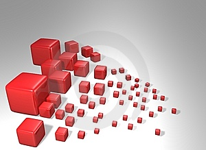 Cube World Royalty Free Stock Images - Image: 7972889