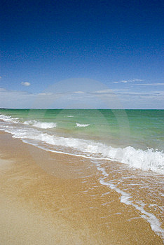Deserted Beach Royalty Free Stock Photo - Image: 7972985