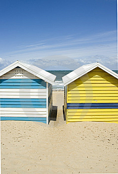 Bathing Boxes Royalty Free Stock Photos - Image: 7973028