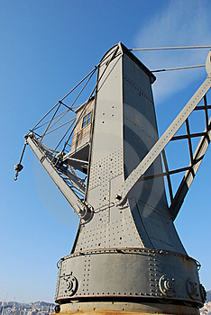 Old Crane Royalty Free Stock Image - Image: 7975006