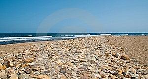 Deserted Pebble Beach Stock Photography - Image: 7975342