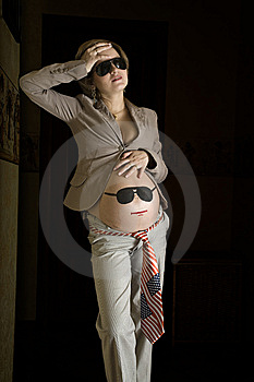 Headache Of Young Pregnant Woman Royalty Free Stock Photo - Image: 7975695