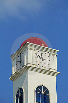 Clock Roof Royalty Free Stock Photos - Image: 7978268