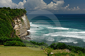 Cliff Royalty Free Stock Photos - Image: 7979138