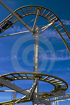 Rollercoaster Royalty Free Stock Photography - Image: 7979707
