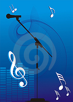 Mic Illustration Royalty Free Stock Image - Image: 7980476