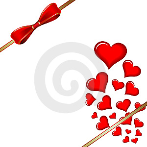 Vector Of Red Heart Stock Photos - Image: 7980623