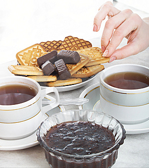 Tea Composition Stock Image - Image: 7981761