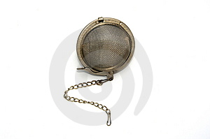 Tea Strainer Royalty Free Stock Photo - Image: 7982245