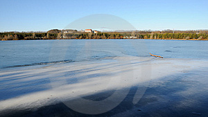 Frozen Lake No.3 Stock Images - Image: 7982264