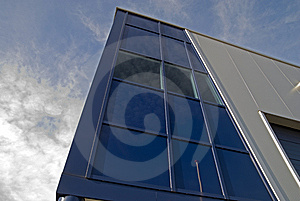 Modern Design Building Stock Image - Image: 7982791
