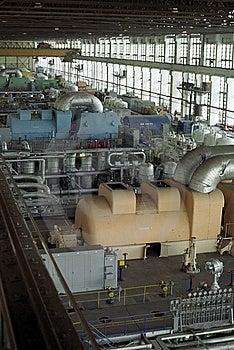 Turbines Hall Royalty Free Stock Photography - Image: 7986507