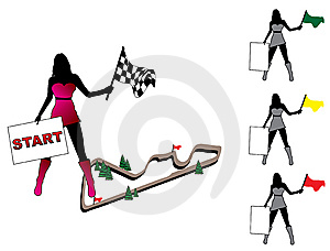 Pretty Woman Set Stock Image - Image: 7986801