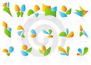 Design Element Collection Stock Images - Image: 7987834