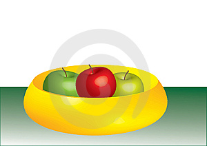 Bowl Of Apples Royalty Free Stock Photos - Image: 7987998