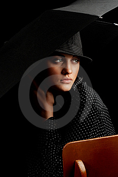 Mysterious Lady Stock Photos - Image: 7988653